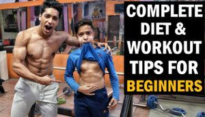 TOP 5 Gym Diet Workout Tips for Beginners in Hindi